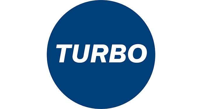 Chế độ hút turbo mạnh mẽ hơn