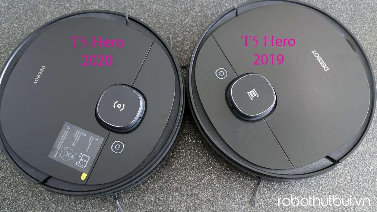 Ecovacs T5 Hero 2019 và 2020